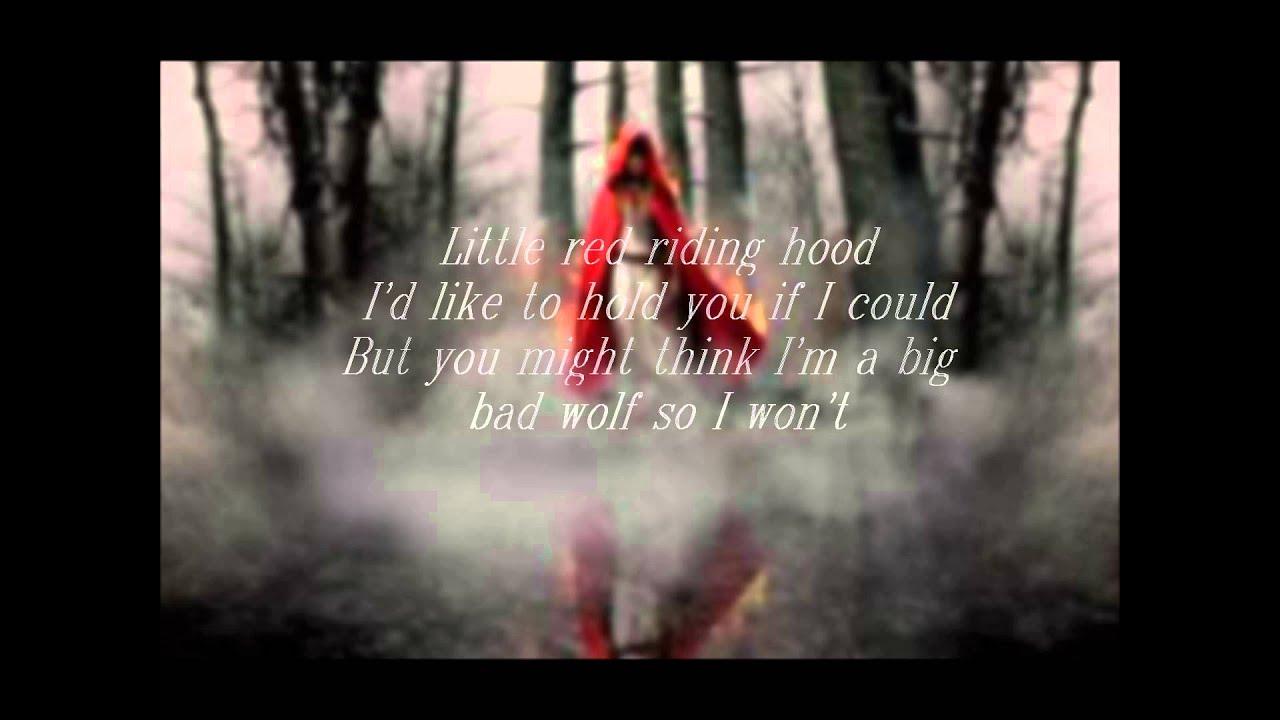 Make Own Quote Wallpaper Amanda Seyfried Little Red Riding Hood Lyrics On The