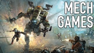 10 AWESOME Games That Let You Play as GIANT MECHS
