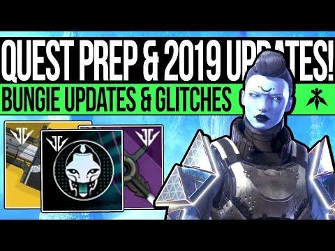 Destiny 2 | NEW YEAR UPDATES & QUEST PREP! Content Info, Game Fixes, Sword Bug & Missing Nightfalls! thumbnail