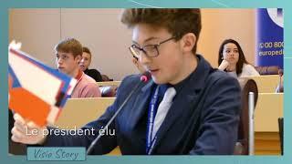 Simulations du Parlement européen : les lycéens mis en situation