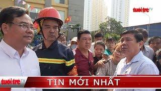⚡ NÓNG   Chủ tịch UBND TP.HCM Nguyễn Thành Phong đến hiện trường chỉ đạo vụ cháy chung cư Carina