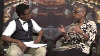 Students Interview Author Tonya Bolden: Every Book Begins with Panic (1 of 3)