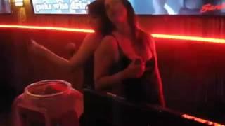 Ariel Rebel and Nicki Hunter at Porn Star Karaoke having fun