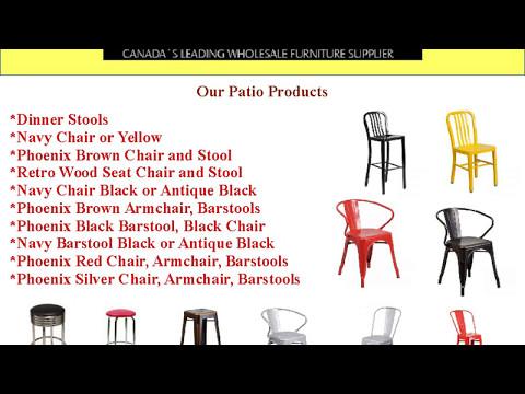 Leading Restaurant Furniture Supplier Edmonton