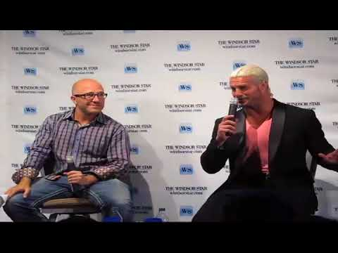 Dolph Ziggler Interview With Donald McArthur At Windsor Star News Cafe: Full Version