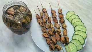 Вкуснейшие маринованные мидии!!! Как приготовить и почистить мороженые мидии/pickled mussels