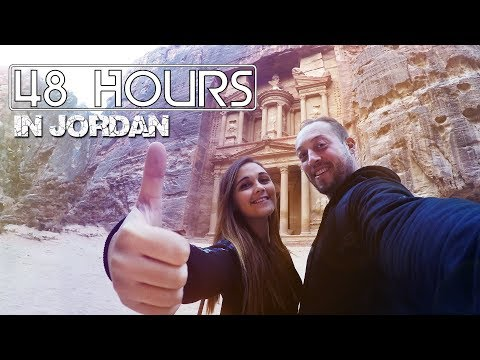 48 Hours in Jordan: Petra, the Dead Sea, and Falafel!