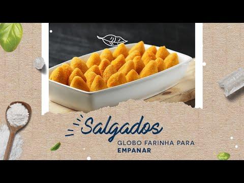 Salgados — Globo Farinha para Empanar