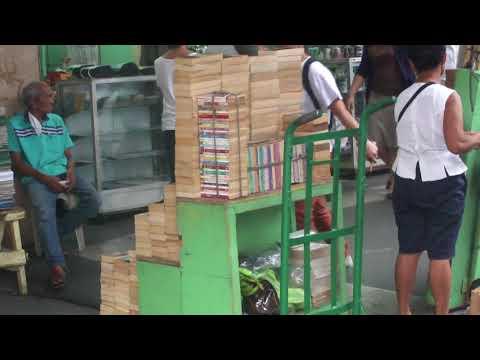 File footage - C.M. Recto Avenue - establishments, printing, books [Sampaloc, Manila; Oct 2014]
