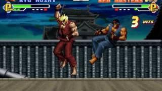 Mugen - Evil Ryu Vs. Evil Ken