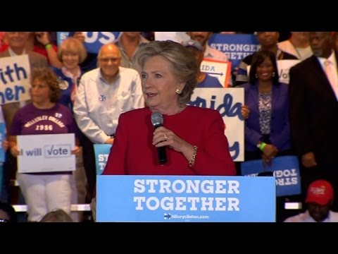 Clinton: Trump is targeting Democracy