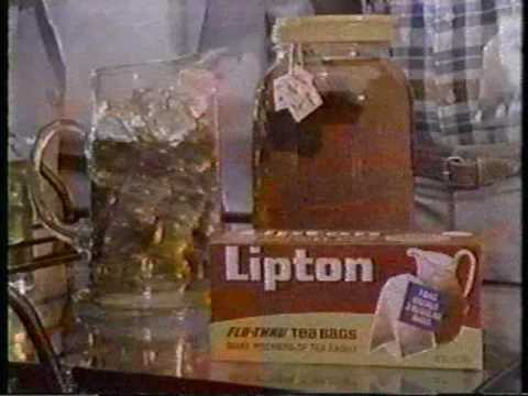Don Meredith and Willard Scott for Lipton sun tea - 1986 commercial