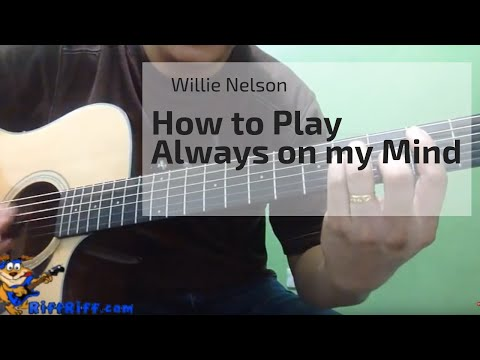 How to Play   Always on my Mind   Willie Nelson2