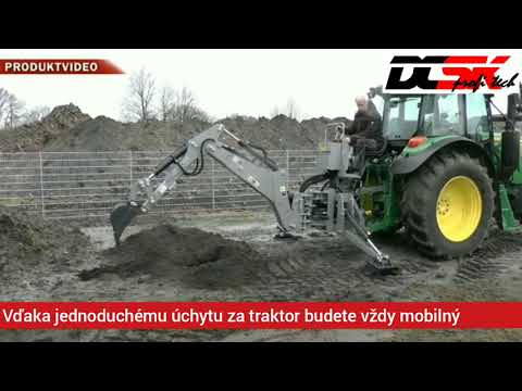 Podkop Za Traktor Model SN5