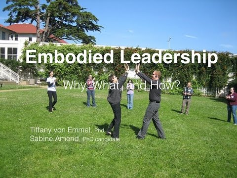 Embodied Leadership -Why, What, How: A Slidecast with Tiffan
