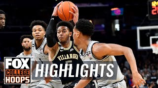 With villanova trailing late, jermaine samuels scored less than 10 seconds to go and the wildcats were able thwart georgetown's buzzer beater attempt...