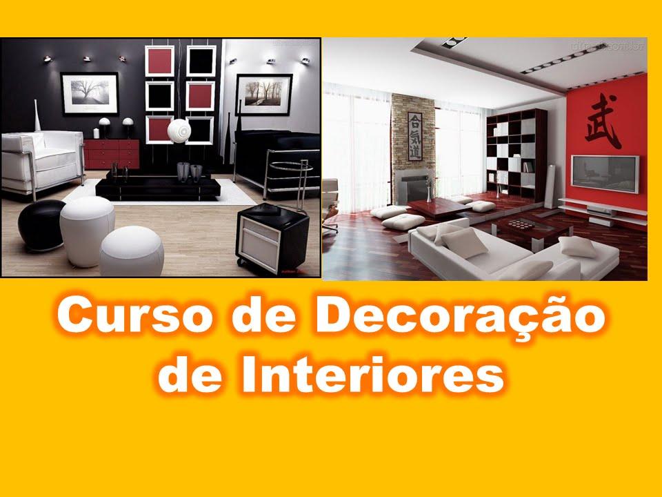 Curso decora o de interiores fa a voc mesmo o design for Curso decoradora de interiores