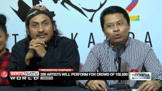 Artists to Hold Joko Widodo Campaign Concert at GBK Stadium