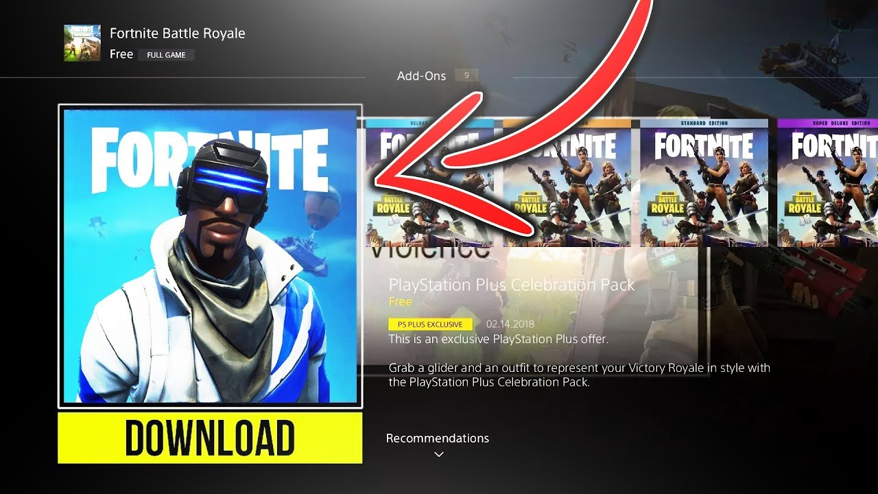 How to Get NEW PLAYSTATION PLUS SKIN for FREE in Fortnite!