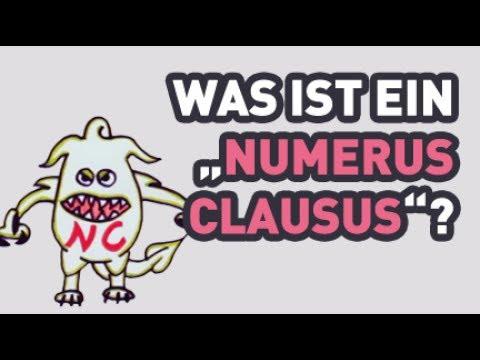 Was ist eigentlich ein numerus clausus 2012 youtube for Was ist numerus clausus
