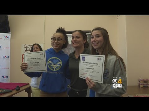 East Boston Students Surprised With Full Tuition College Scholarships