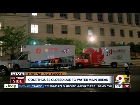 Hamilton County Courthouse Closed Friday Due To Water Main Break