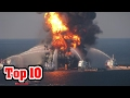 Top 10 LARGEST OIL SPILLS IN HISTORY