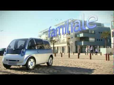 Bien-aimé Clip de la Friendly (Ex MIA) - Voiture électrique d'Heuliez - YouTube CH46
