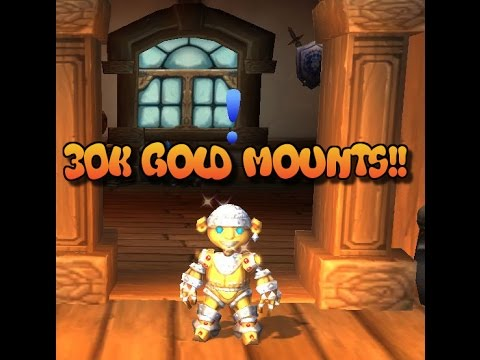Wow gold guide: 30k gold mounts for free!!! Youtube.