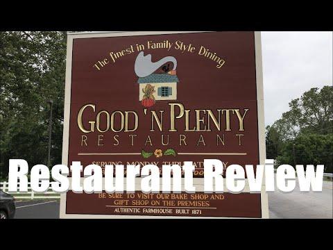 Good 'n Plenty Restaurant Review 2019   Bird-in-Hand, PA   Near Lancaster & Hershey   4K
