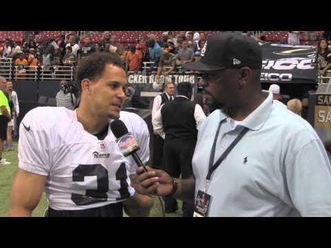 Palmer Alexander interviews Rams CB Cortland Finnegan