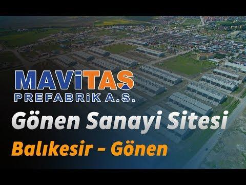 Mavitaş Prefabrik A.Ş. - Gönen Sanayi Sitesi - Balıkesir/Gönen - Prefabrik Sanayi Sitesi