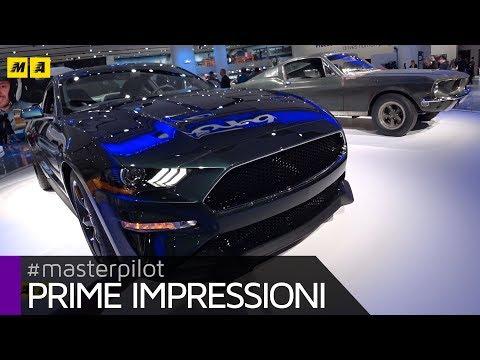 Ford Mustang Bullit, omaggio ai 50 del film con Steve McQueen | Live from Detroit [ENGLISH SUB]