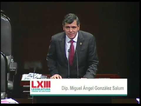 Dip. Miguel González (PRI) - Ley de Ingresos 2018 (A Favor)