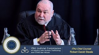 Chief Counsel Robert David Steele (ITNJ Seating)