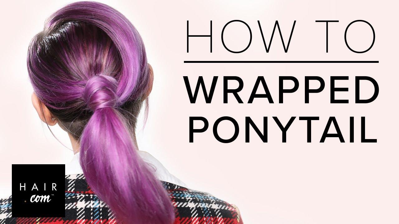 Sleek Ponytail With Undercut Youtube