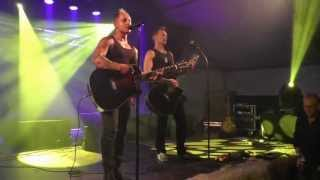 2013 08 24 Schlossparkfest Gehren Rocktigers & Trubadurica Live aus Schweden
