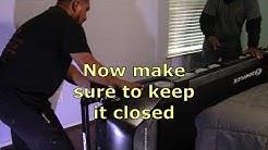 How to move a Bowflex Treadmill BTX216 upstairs