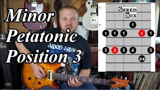 The Odyssey Episode 8, Minor Pentatonic Position 3