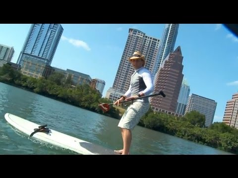 Stand Up Paddle Boarding (SUP) on Lady Bird Lake, Austin, TX - The Daytripper