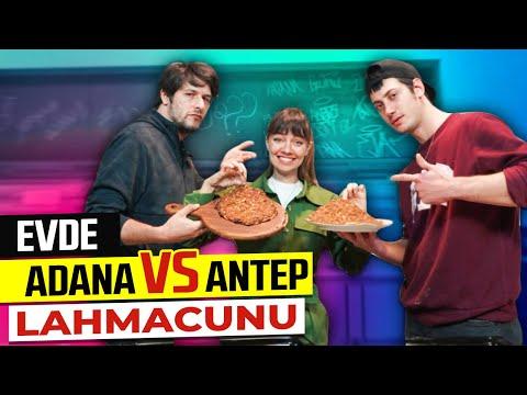 ADANALI ALİCAN VS ANTEPLİ FIRAT 🥘 EVDE LAHMACUN