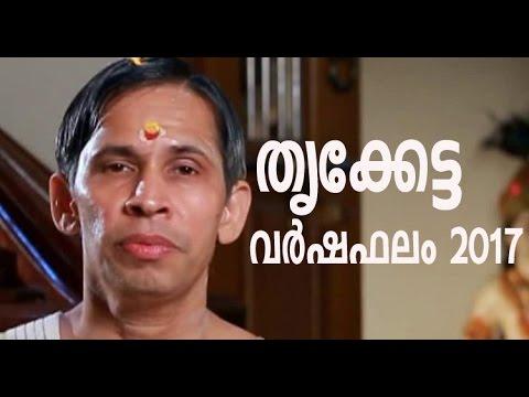 Thrikketta I Varshaphalam 2017 I Kanippayyur Narayanan Namboodiripad