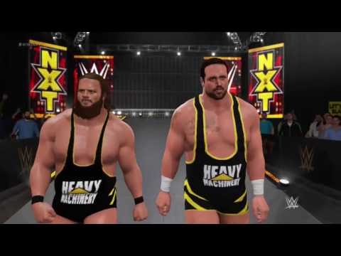 WWE 2K17 - Heavy Machinery NXT Tag Team (XB1)