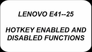 Graphics Driver For Lenovo E41 25 Video in MP4,HD MP4,FULL