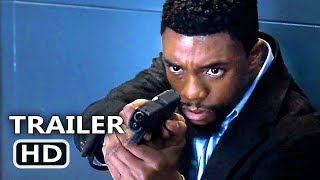 21 BRIDGES Official Trailer # 2 (2019) Chadwick Boseman, Thriller Movie HD
