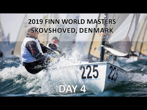 Highlights from Day 4 at 2019 Finn World Masters