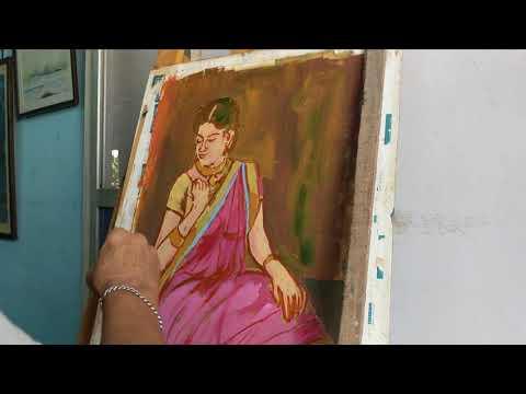 Feminine Oil painting ( part 2 )