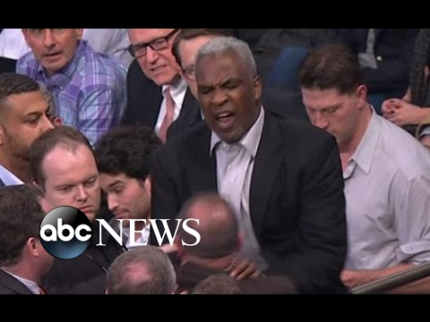 Charles Oakley Fight with Knicks Security CAUGHT ON CAMERA Mp3