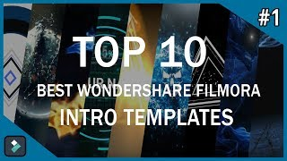 Top 10 Best Wondershare Filmora Intro Templates #1 + Free Download thumbnail