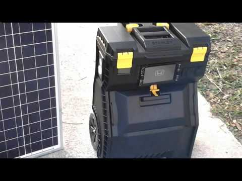 DDP 3.0 Solar powered Generator